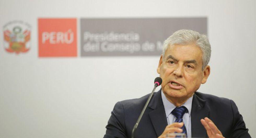 El congresista César Villanueva se mostró a favor de una investigación profunda. (Foto: PCM)