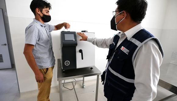 La Libertad: Implementan nuevo equipamiento por medio millón de soles en Hospital de Pacasmayo. (Foto: Pronis)