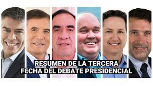 Repasa los momentos más tensos que dejó la tercera jornada del Debate Presidencial 2021