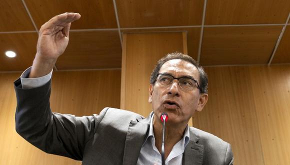 Martín Vizcarra también afirmó que el acuerdo con Odebrecht permitirá conocer quiénes recibieron las coimas para hacer proyectos sobrevalorados. (Foto: GEC)