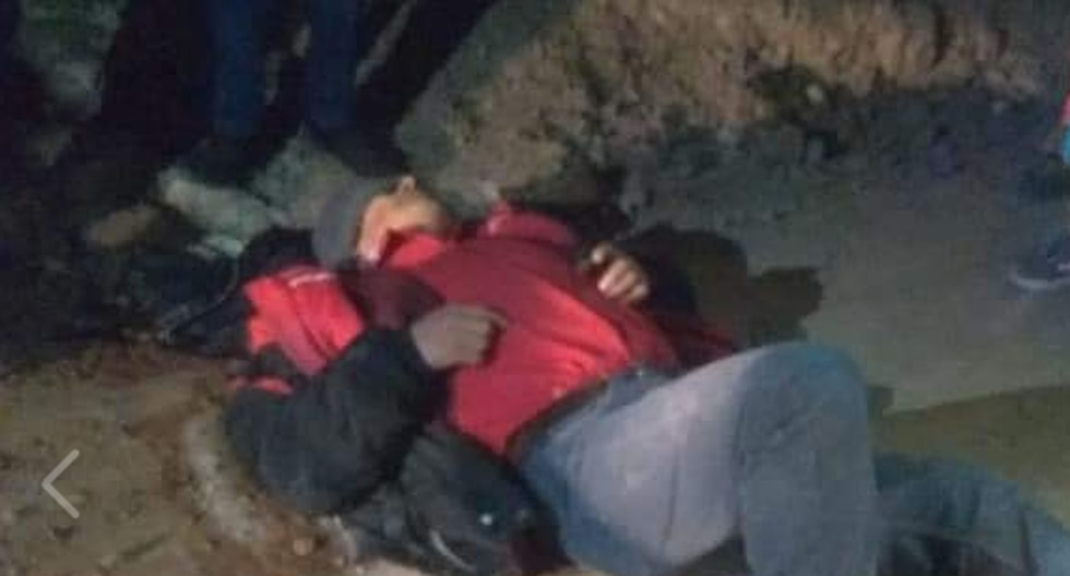 Uno de los sujetos fue rescatado del río al que se aventó para evitar ser detenido. (Facebook)
