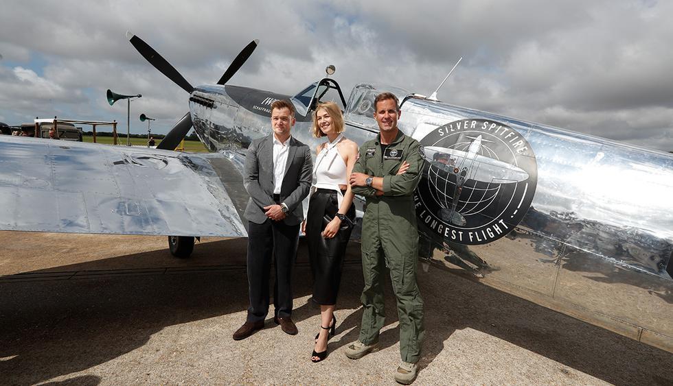 Avión de la Segunda Guerra Mundial será puesto a prueba en ambicioso proyecto. (Foto: AFP)