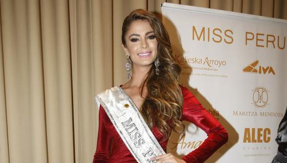 "Miss Perú, Laura Spoya: ""Yo no menosprecié a Miss Filipinas"". (Trome)"