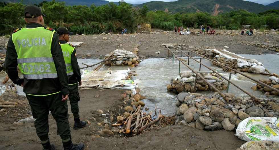 El coronel José Palomino comandante de la Policía de Cúcuta confirmó los hechos. (Foto: Reuters)