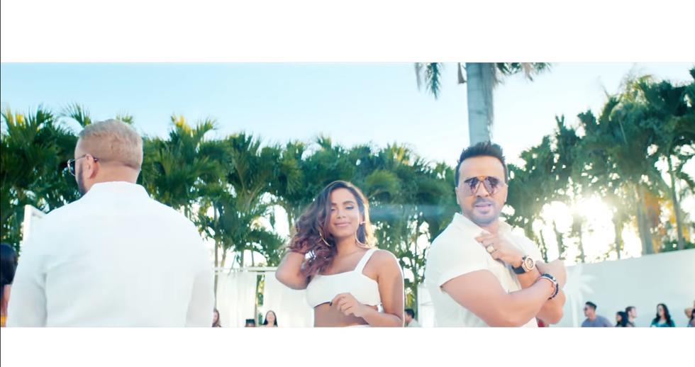 "Luis Fonsi, Anitta y Alex Sensation estrenan ""Pa' Lante"" (Foto: Captura de pantalla)"