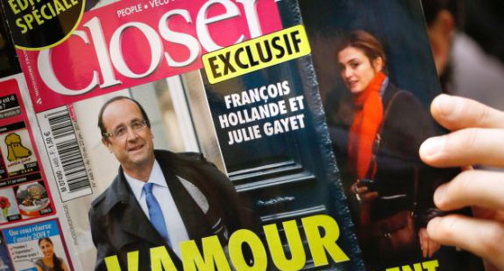 Julie Gayet demandará a revista Closer por amorío con François Hollande. (AFP)