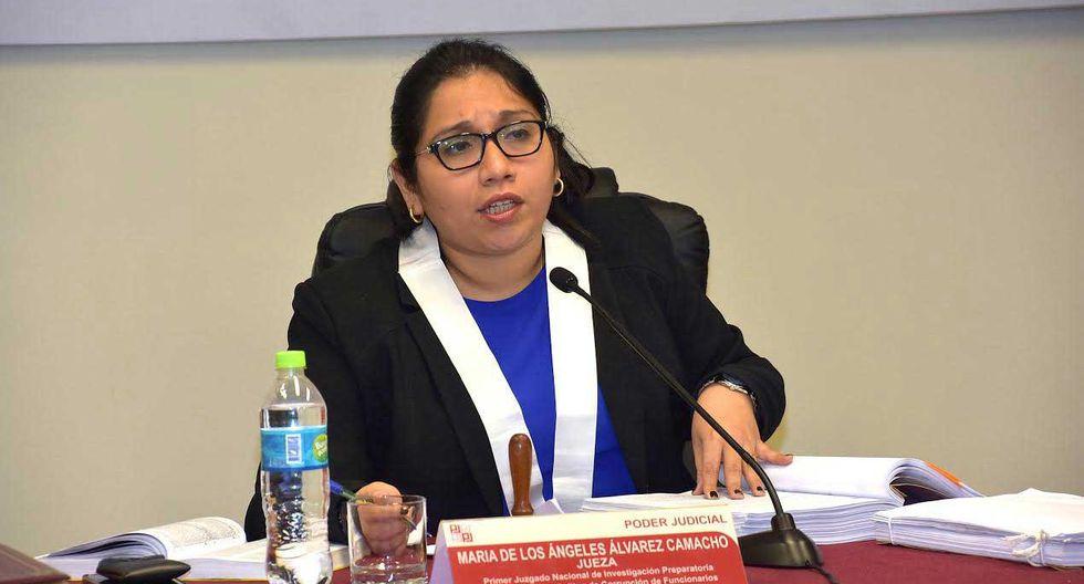 La jueza María Álvarez Camacho recibió toda la documentación esta semana y tendrá que pronunciarse sobre el acuerdo de colaboración con Odebrecht. (Foto: Difusión)