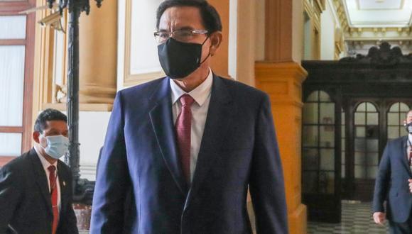 El último jueves la Comisión Permanente aprobó el informe final de la acusación constitucional contra Martín Vizcarra. (Foto: Congreso)
