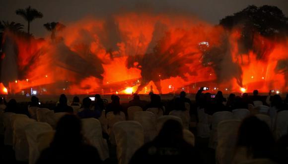 Lanzan nuevo espectáculo en la fuente de la fantasía del Circuito Mágico del Agua (Foto: César Bueno @photo.gec)