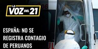 Embajador peruano: No tenemos información de peruanos contagiados con coronavirus en España