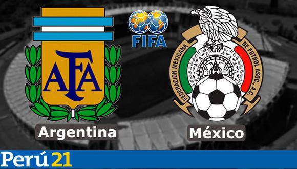 Sigue EN VIVO y EN DIRECTO el Argentina vs. México desde el Mario Alberto Kempes por el Amistoso FIFA. (Foto: Composición)