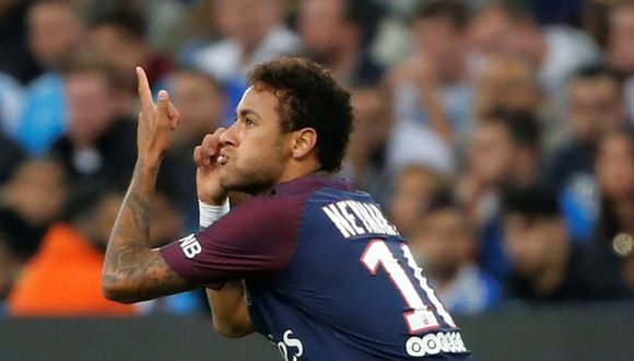 Neymar aumentó su registro goleador con la camiseta del PSG. (REUTERS)