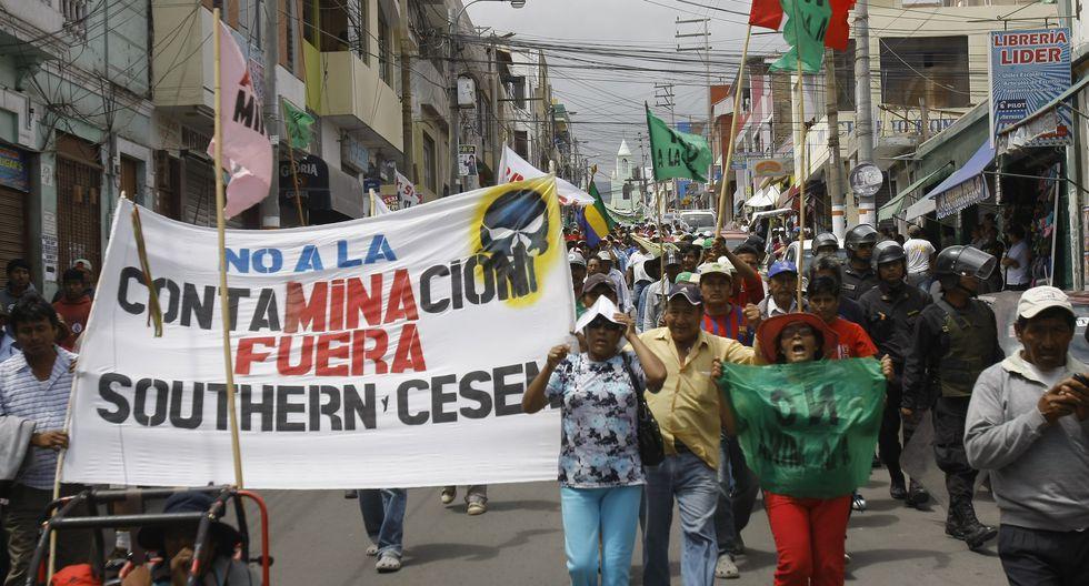 En agosto se vence el estudio de impacto ambiental (EIA) de Tía María. (Foto: GEC)