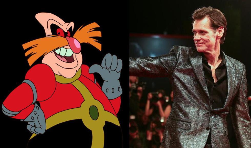 Jim Carrey será el 'Dr. Robotnik' en la adaptación live action de 'Sonic'. (Sega)
