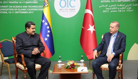 Mandatario turco viajaría a Venezuela después de la cumbre del G-20 que se celebrará en Argentina entre el 30 de noviembre y el 1 de diciembre. (Foto: AFP)