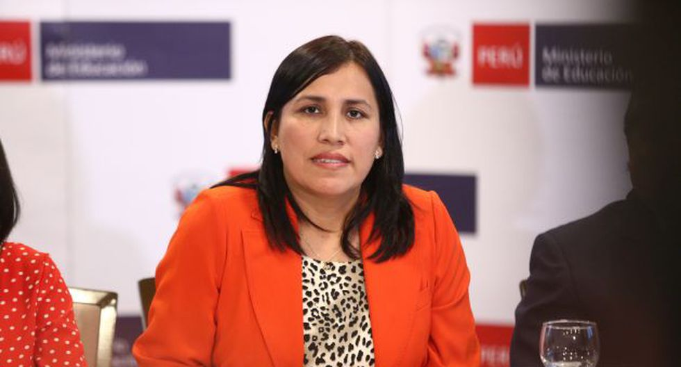 Flor Pablo lleva un mes como ministra de Educación. (GEC)