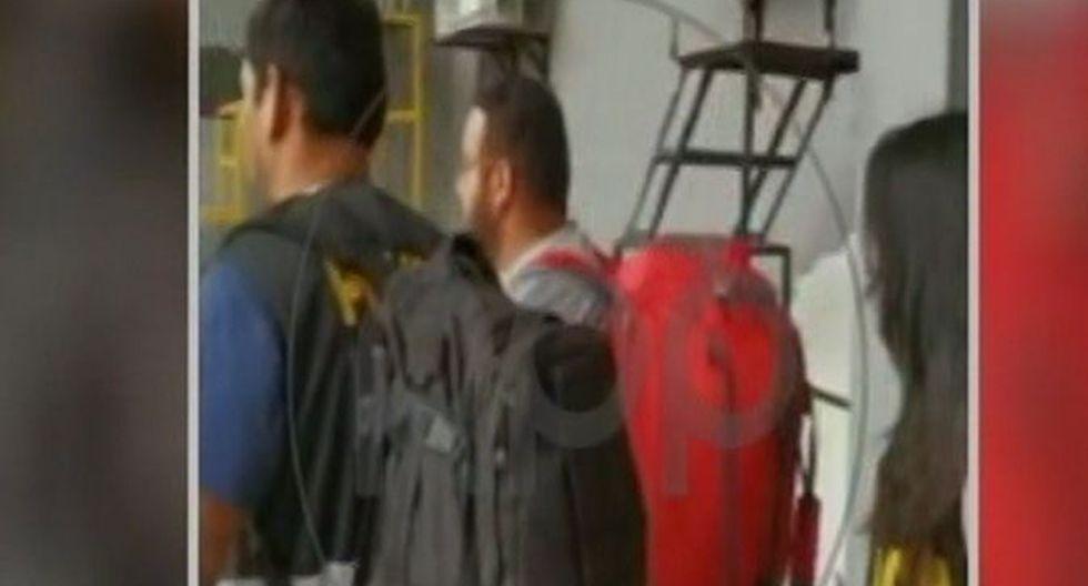 Fueron trasladados al penal de varones, Quencoro, donde cumplirán los 36 meses de prisión preventiva. (Foto: Captura RPP)
