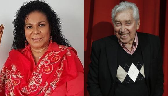 Eva Ayllón lamentó la muerte de Osvaldo Cattone a los 88 años. (Foto: @evaayllon/GEC- Mario Zapata)