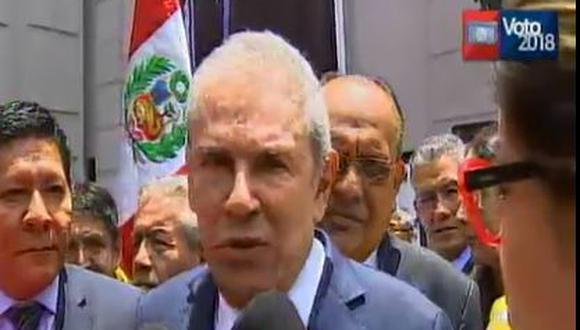 Luis Castañeda Lossio. (Captura/Canal N)