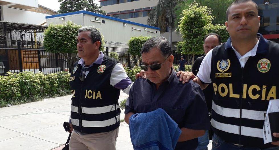 El ex funcionario César Guzmán habría integrado la red criminal 'Los Temerarios del Crimen'. (Foto: Nadia Quinteros)