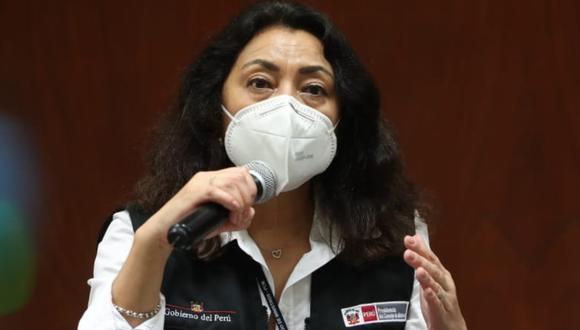 Violeta Bermúdez señaló que el funcionario que mencionó el congresista Rennán Espinoza no trabaja actualmente en la PCM. (Foto: PCM)