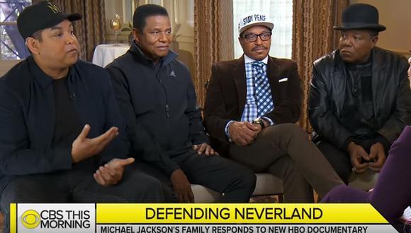 La familia del cantante desestimó las acusaciones en contra de Michael Jackson. (Foto: Captura de CBS)