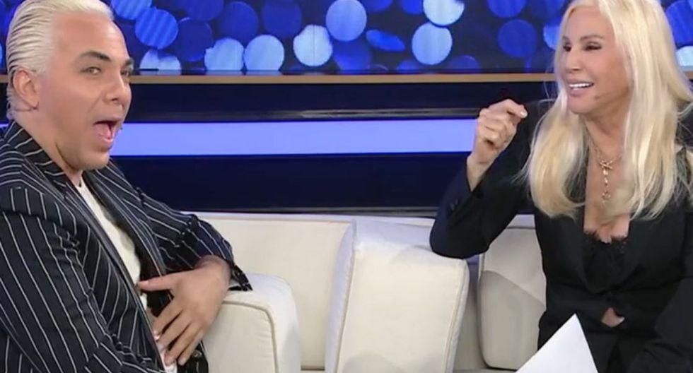Cristian Castro y la joven colombiana tendría alrededor de dos meses como pareja. (Foto: Captura)