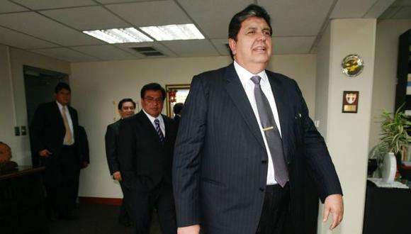 Alan García consideró escandaloso que un ministro gane 40 sueldos mínimos. (Perú21)
