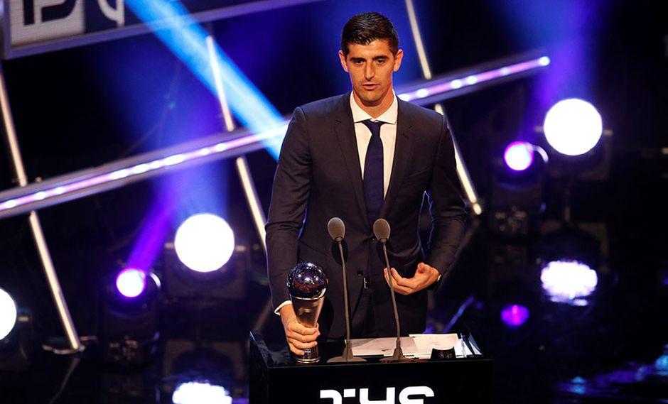 Thibaut Courtois, arquero belga del Real Madrid, antes del Chelsea, ganó el premio al mejor golero. (Foto: Reuters)