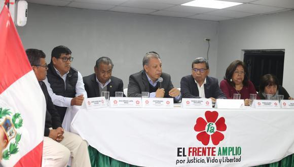 El Frente Amplio afirmó que solo puede sesionar la Comisión Permanente. (Violeta Ayesta/GEC)