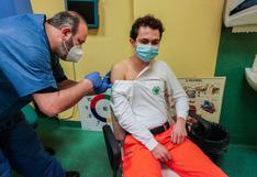 Italia supera el millón de personas vacunadas contra el coronavirus