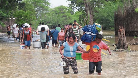 Piura: Catacaos sufrió inundación. (USI)