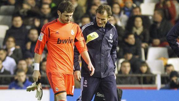 La lesión ocurrió durante un partido de cuartos de final de la Copa del Rey. (Reuters)