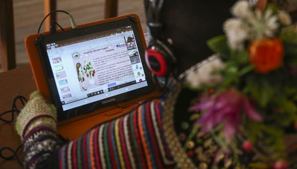 Apurímac: entregaron más de 5 mil tablets que serán entregadas a los estudiantes (Foto: MTC)