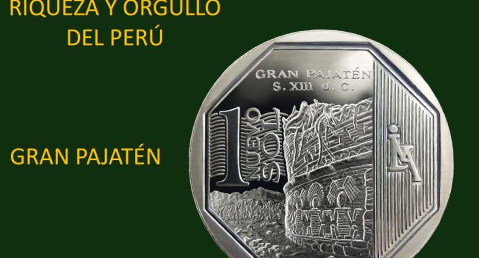 Moneda de S/.1 alusiva al Gran Pajatén. (BCR)
