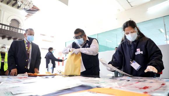 Más de 1,300 actas han sido impugnadas en la segunda vuelta electoral (ONPE).