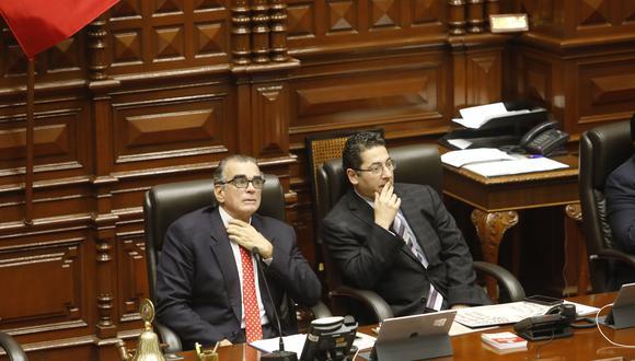Salvador Heresi no espera el debate y ya piensa en un escenario de cuestión de confianza (Piko Tamashiro/GEC).