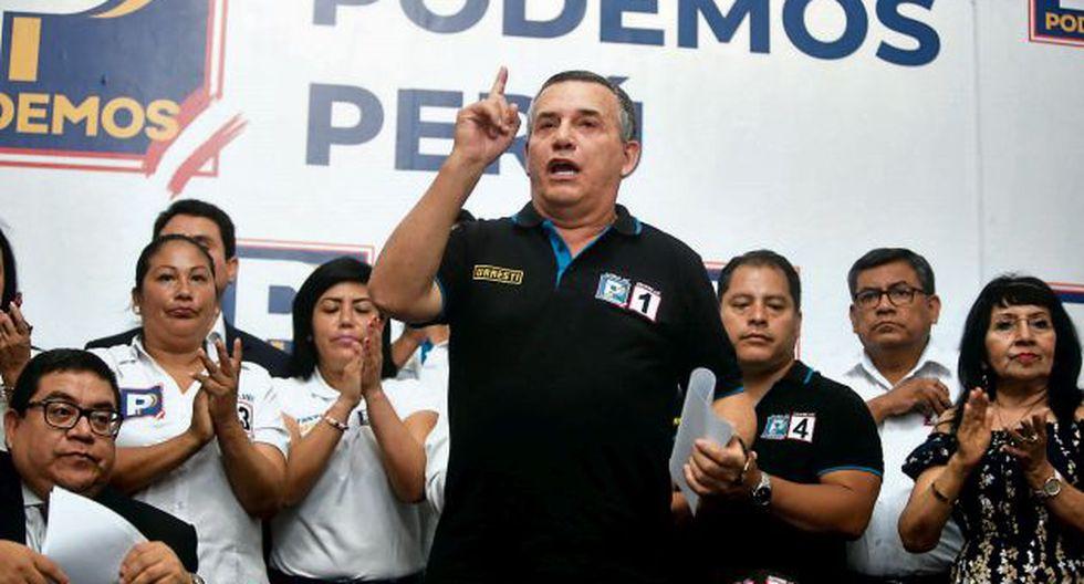 Daniel Urresti tiene un proceso judicial pendiente por la muerte del periodista Hugo Bustíos. (GEC)