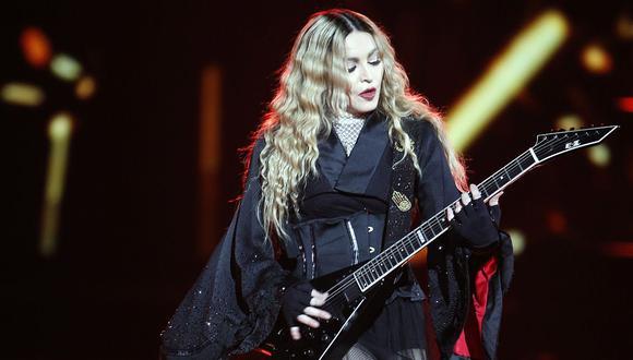 Madonna cancela otro concierto en Lisboa por lesión de rodilla (Foto: AFP)