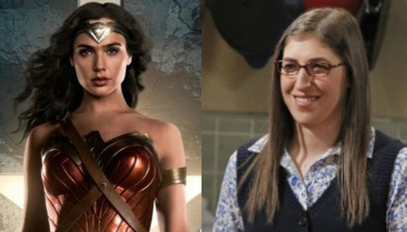 'The Big Bang Theory': Actriz se luce como 'Wonder Woman' en Instagram. (Composición)