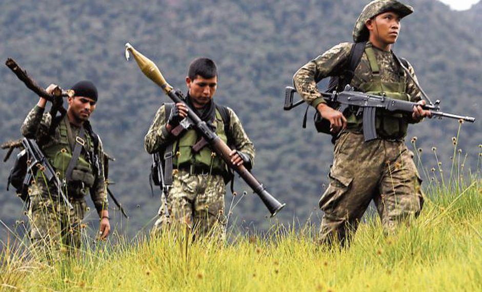 Fuerzas del orden actúan en el Vraem.(Perú21)