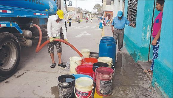 Lambayeque: prorrogan estado de emergencia por 60 días en distrito de Pacora por contaminación del agua (Foto referencial)