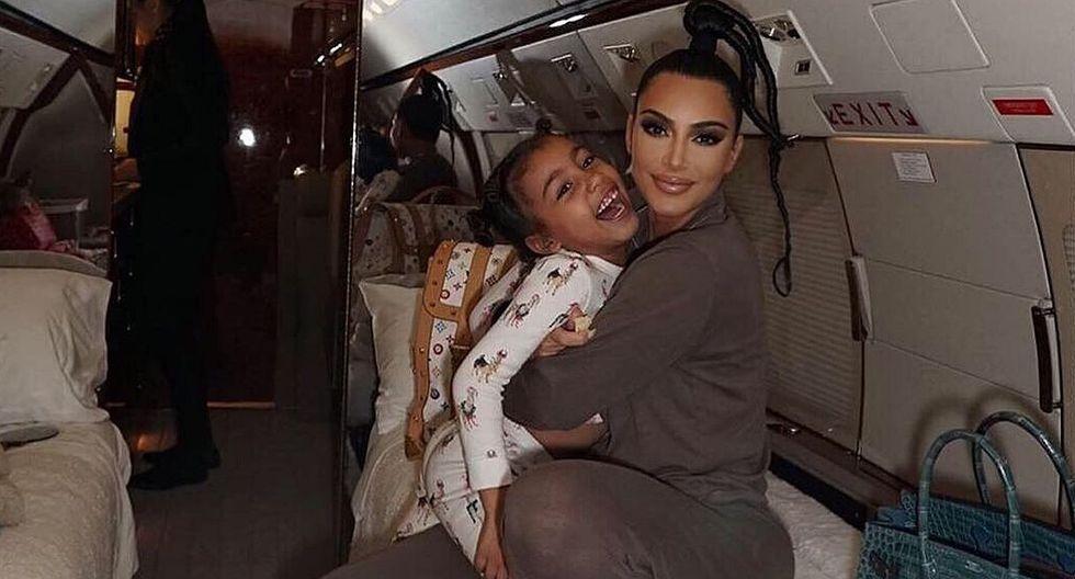Kim Kardashian celebra con tierna publicación el cumpleaños de su hija North West. (Foto: @Kimkardashian)