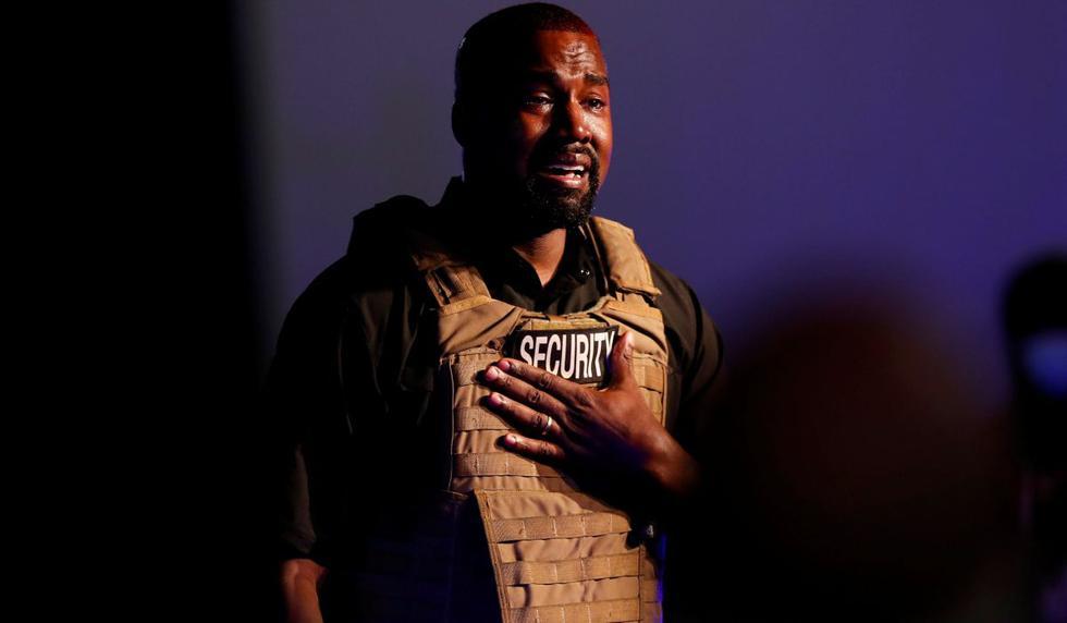 En el primer mitin de su candidatura presidencial de última hora, el rapero Kanye West cargó contra el aborto y la pornografía, discutió sus políticas con los asistentes y en un momento rompió a llorar. (REUTERS/Randall Hill).