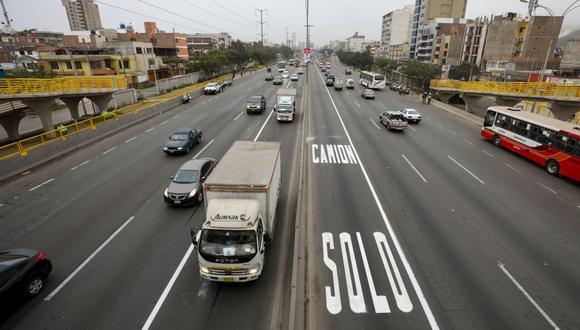 Un total de 42,162 conductores fueron multados entre septiembre y diciembre por no cumplir 'pico y placa' para camiones. (Foto: MML)