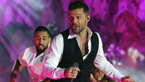 """Ricky Martin: """"La idea es volver al Perú el otro año"""". (AP)"""