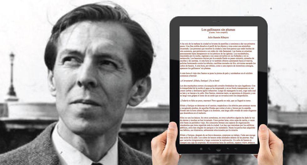 El escritor peruano, Julio Ramón Ribeyro, es considerado como uno de los mejores cuentistas latinoamericanos. (GEC)