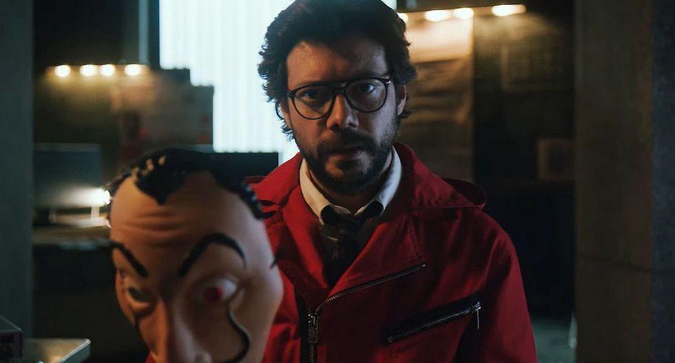 """Álvaro Morte, 'El Profesor', revela detalles de su vida y del final de """"La casa de papel"""". (Foto: Netflix)"""
