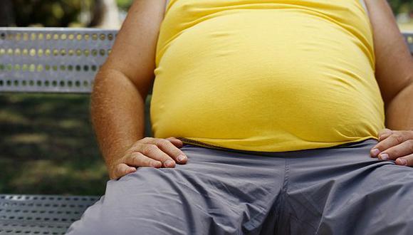 La obesidad abdominal también aumenta el riesgo de mortalidad. (Internet)