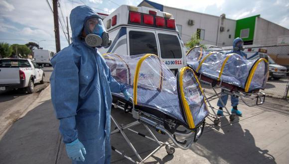 Aumentan las muertes por coronavirus en nuestro país. (Foto referencial EFE)